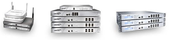 SonicWALL Network Security Appliances